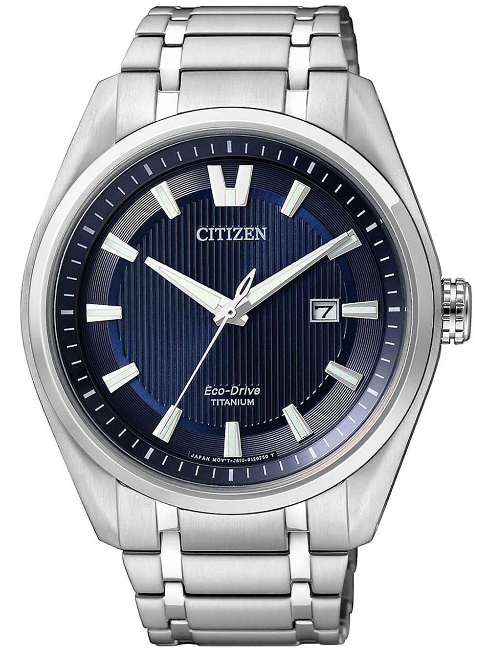 Citizen AW1240-57L Eco-Drive Super-Titanium Herren 42mm 10ATM