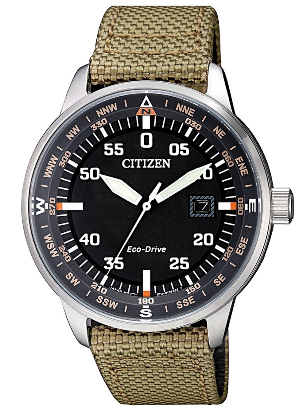 Citizen BM7390 14E Eco Drive Herrenuhr 42mm 10ATM