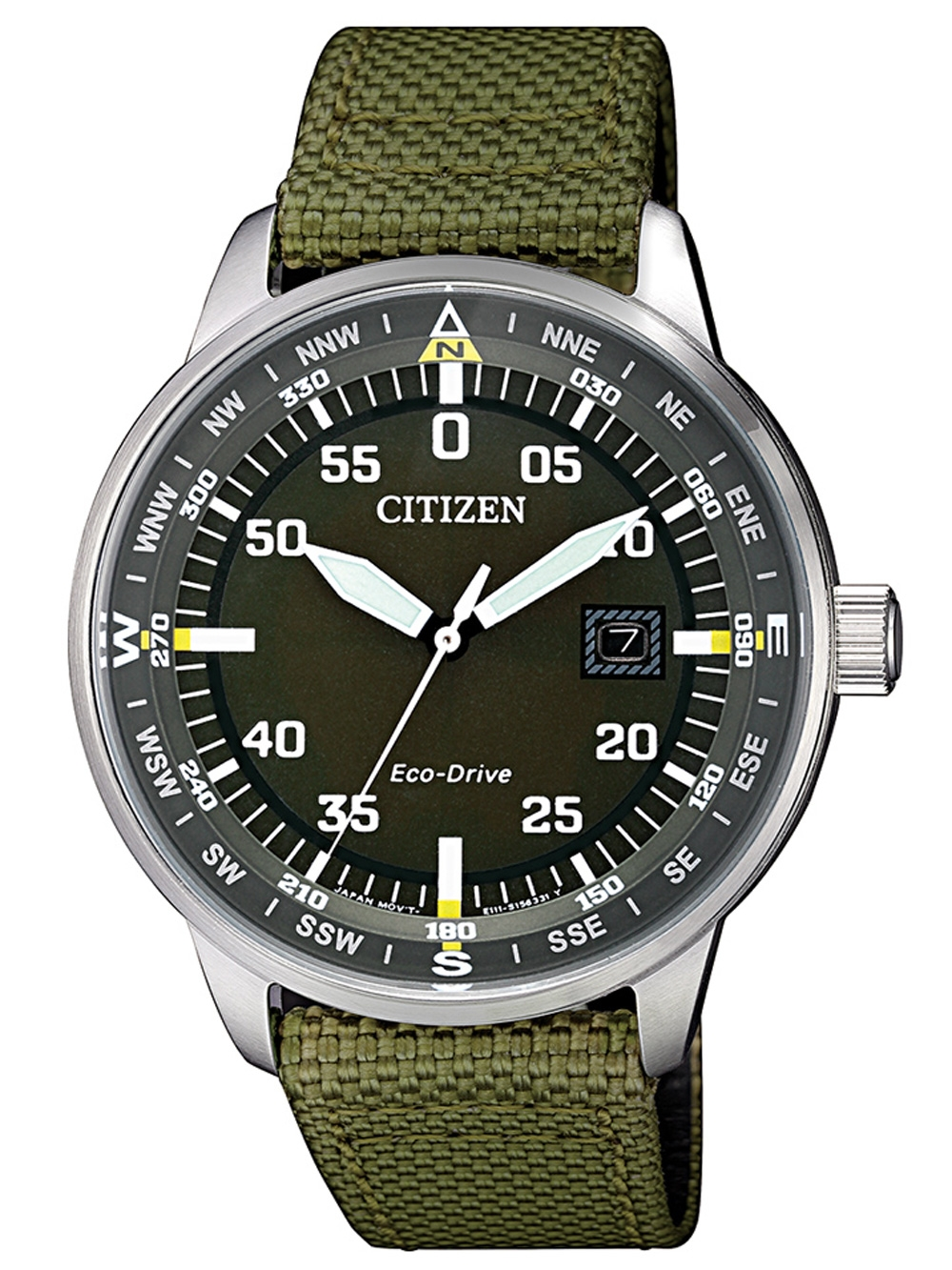 Citizen BM7390 22X Eco Drive Herrenuhr 42mm 10ATM