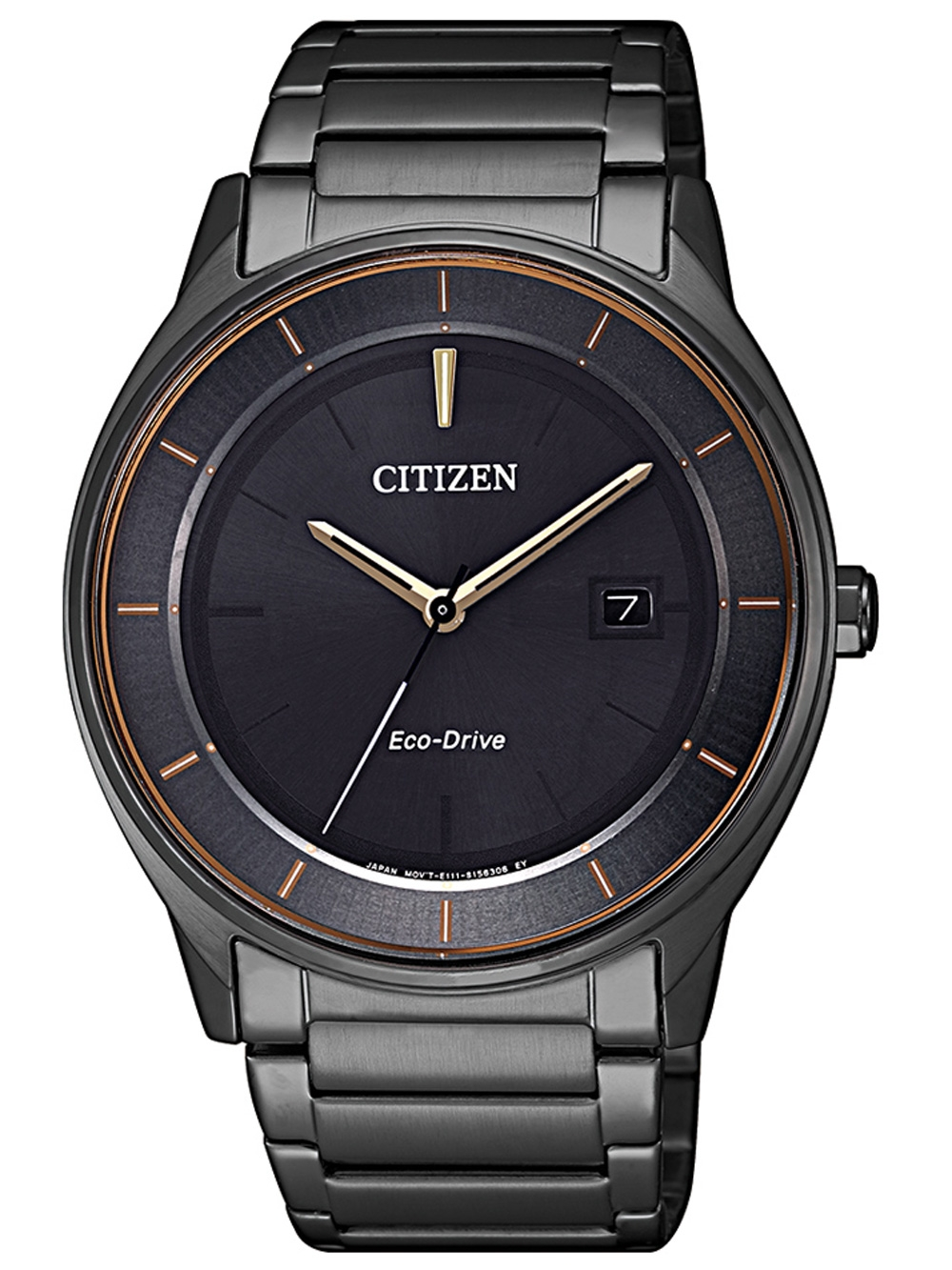 Citizen BM7407 81H Eco Drive Herrenuhr 40mm 5ATM