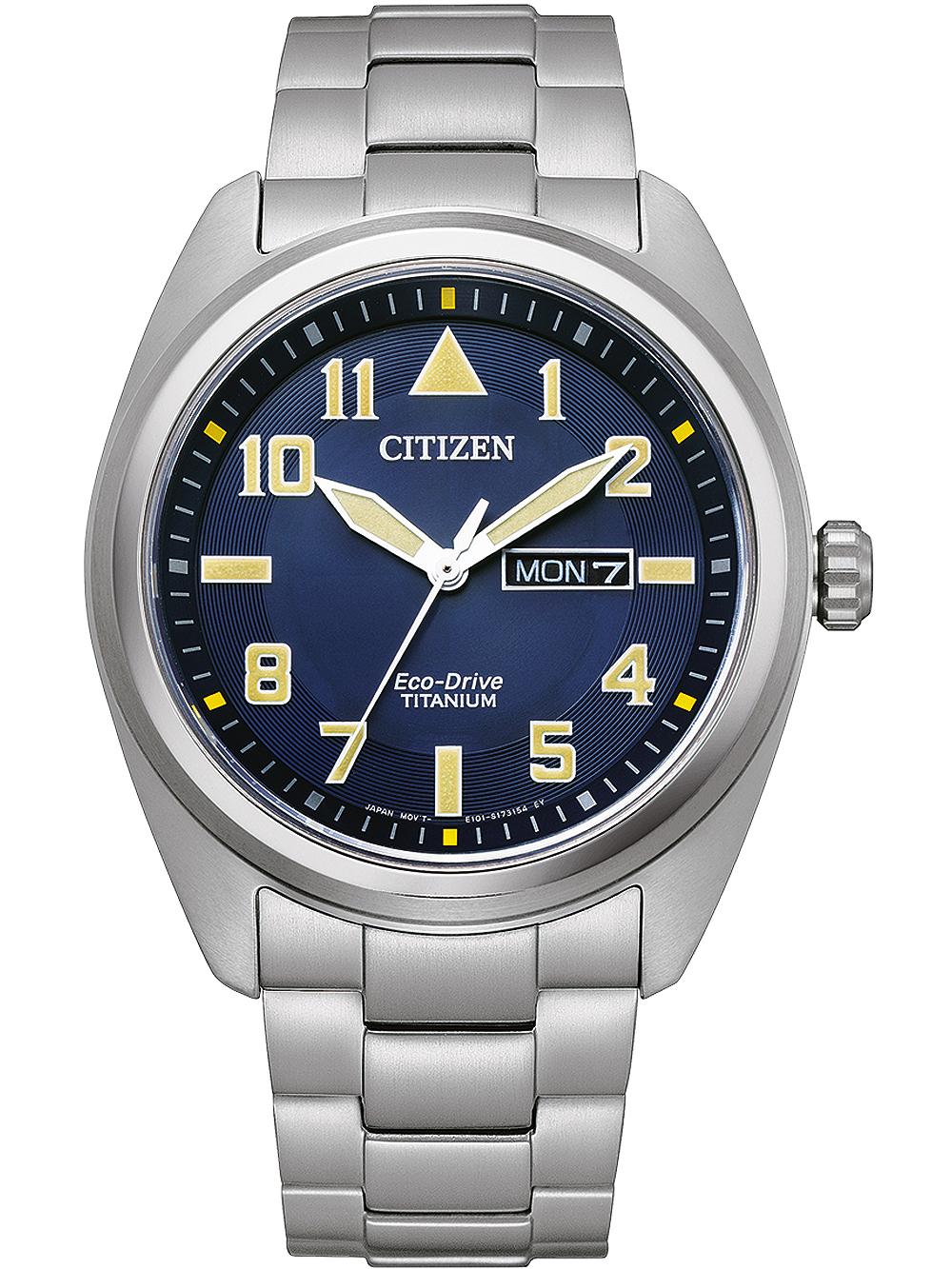 Citizen BM8560-88LE Eco-Drive Super-Titanium Herren 42mm 10ATM