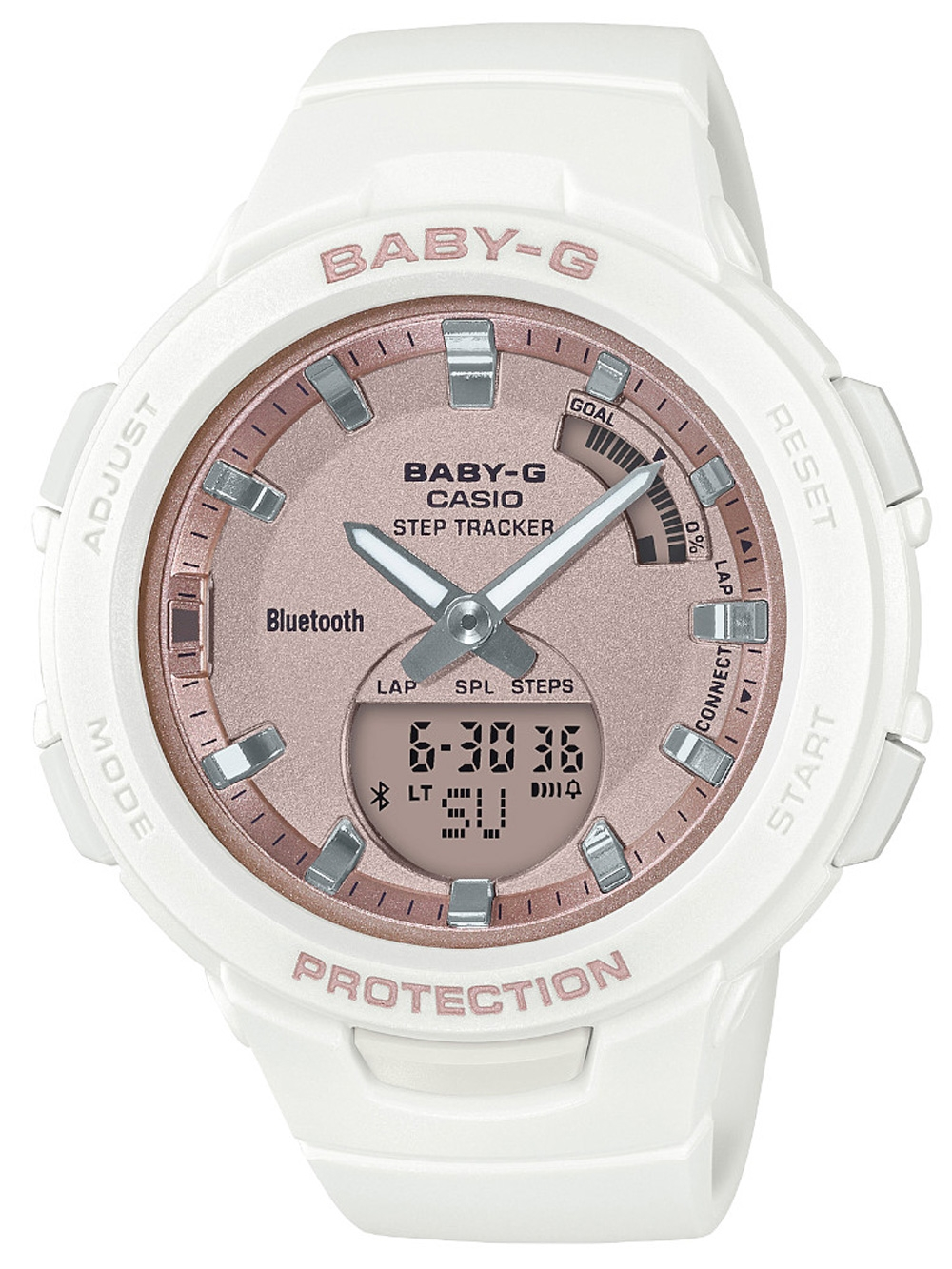 BSA-B100MF-7AER Baby-G Smartwatch 40mm 10ATM