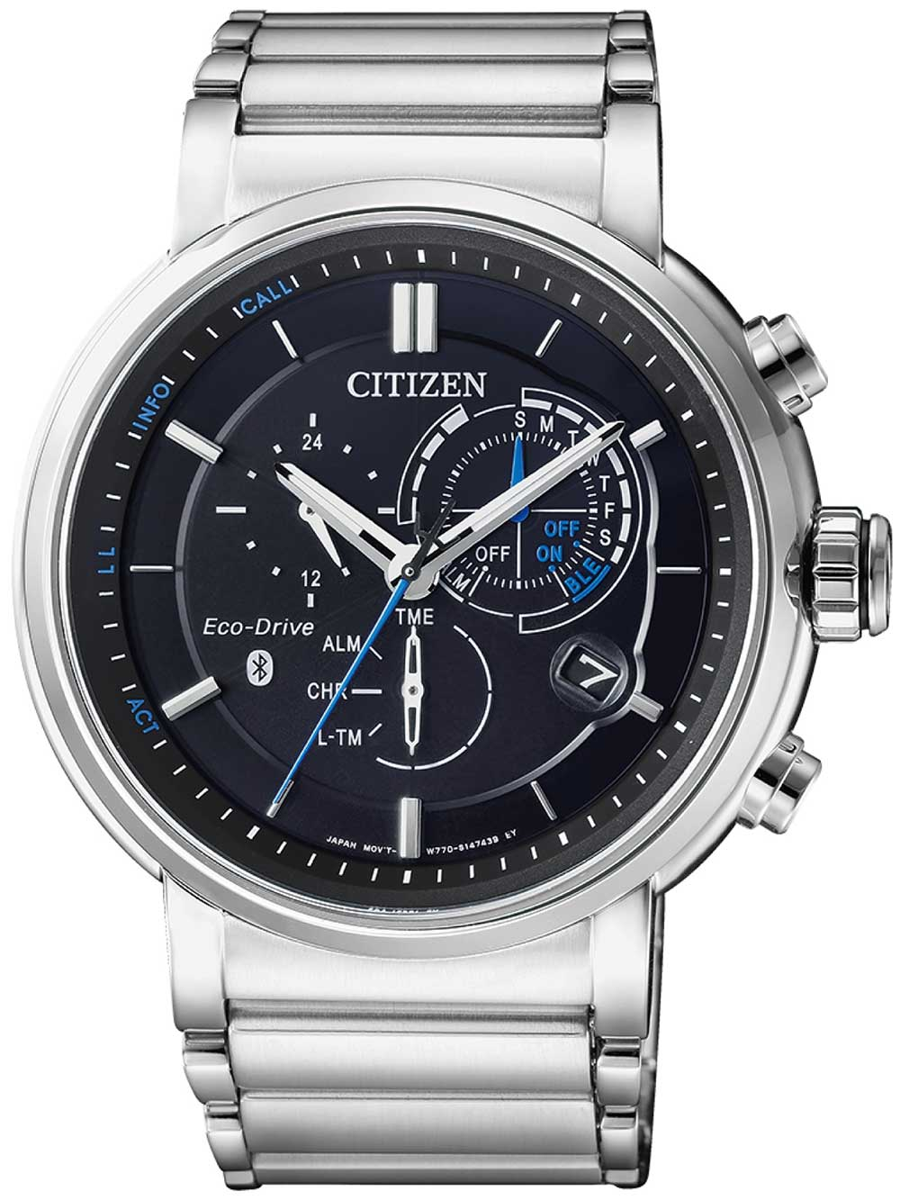 Citizen BZ1001-86E Eco-Drive Bluetooth Smartwatch 45mm 10ATM