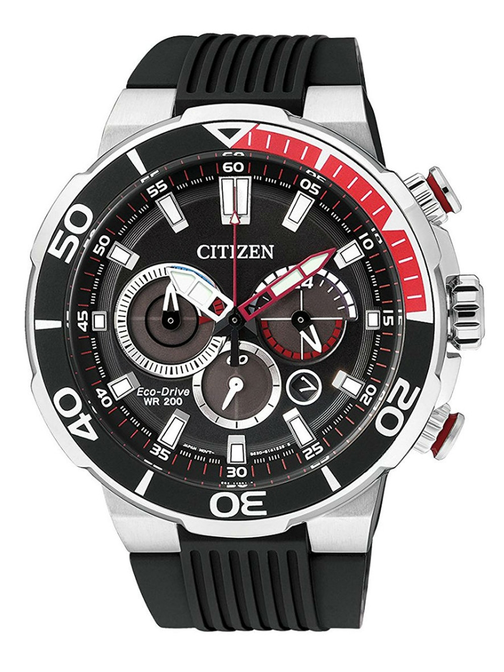 Citizen CA4250 03E Eco Drive Chronograph 45mm 20ATM