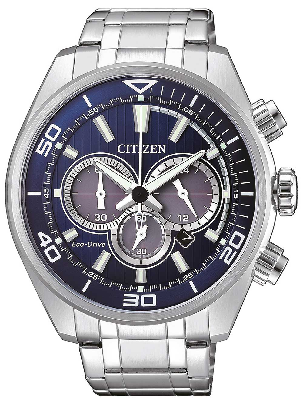 Citizen CA4330 81L Eco Drive Chronograph 45mm 10ATM