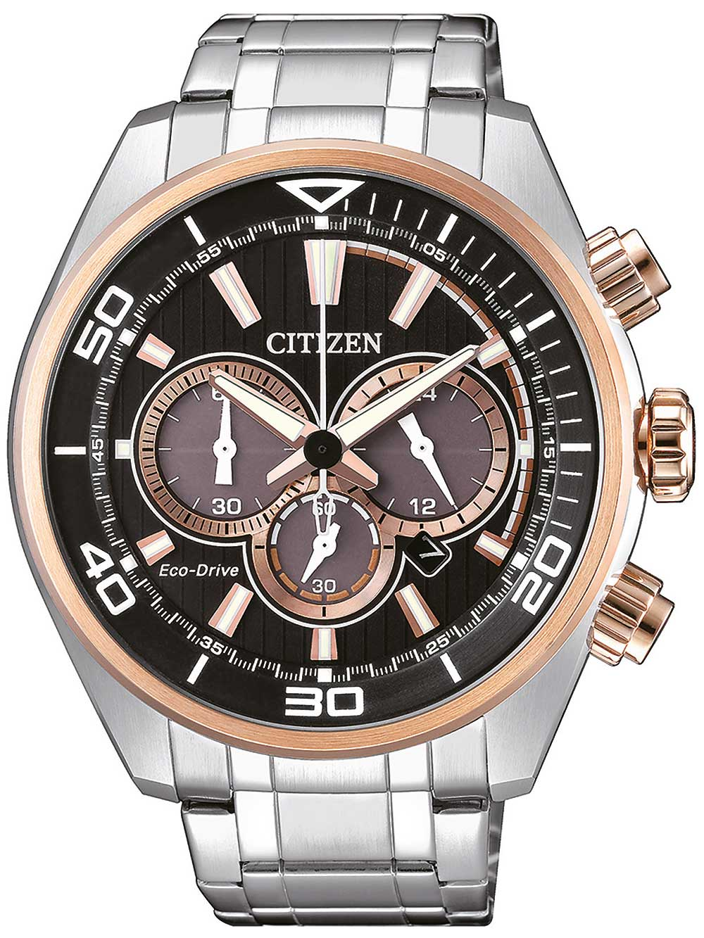 Citizen CA4336 85E Eco Drive Chronograph 45mm 10ATM