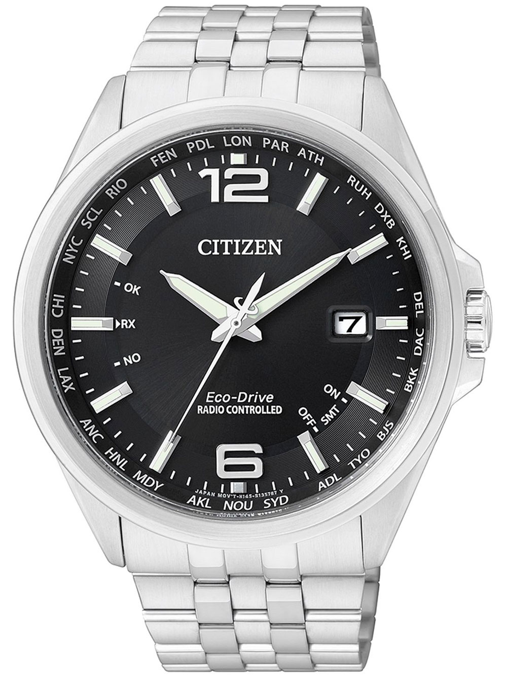 Citizen Eco Drive Elegant CB0010 88E 4 Zonen Funkuhr 43 mm 100M