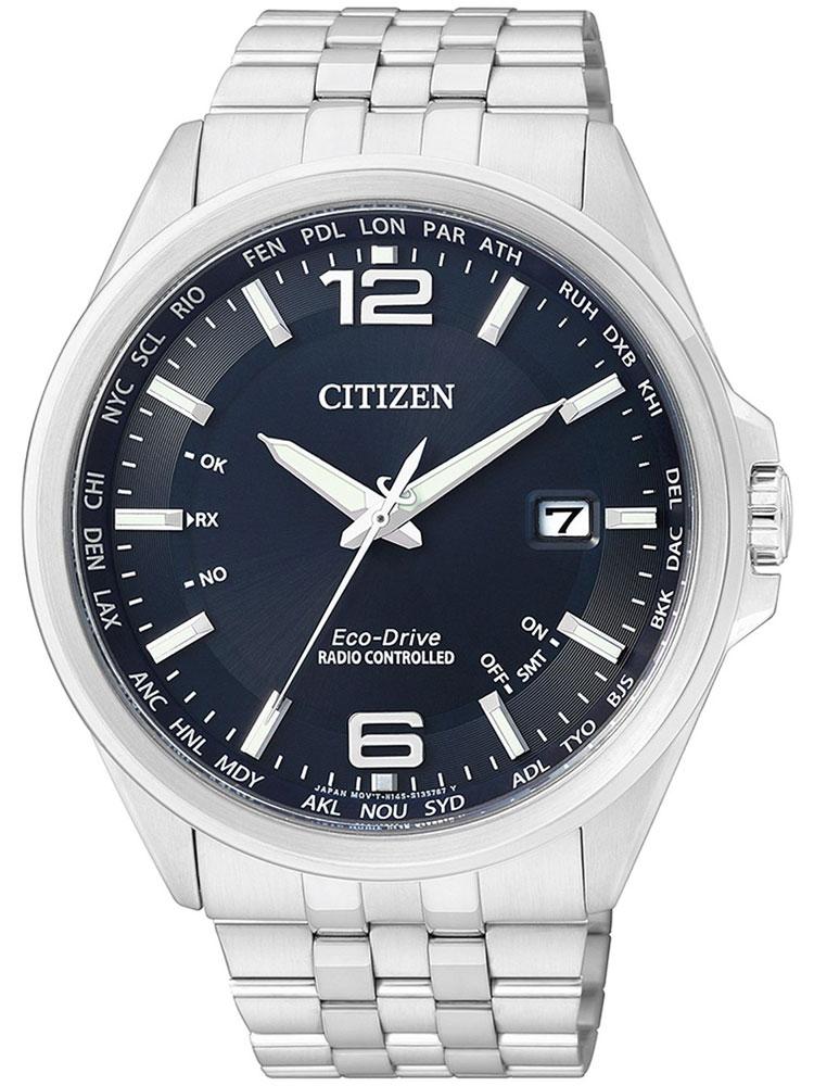 Citizen CB0010 88L Eco Drive Elegant Funkuhr Herren 43mm 10ATM