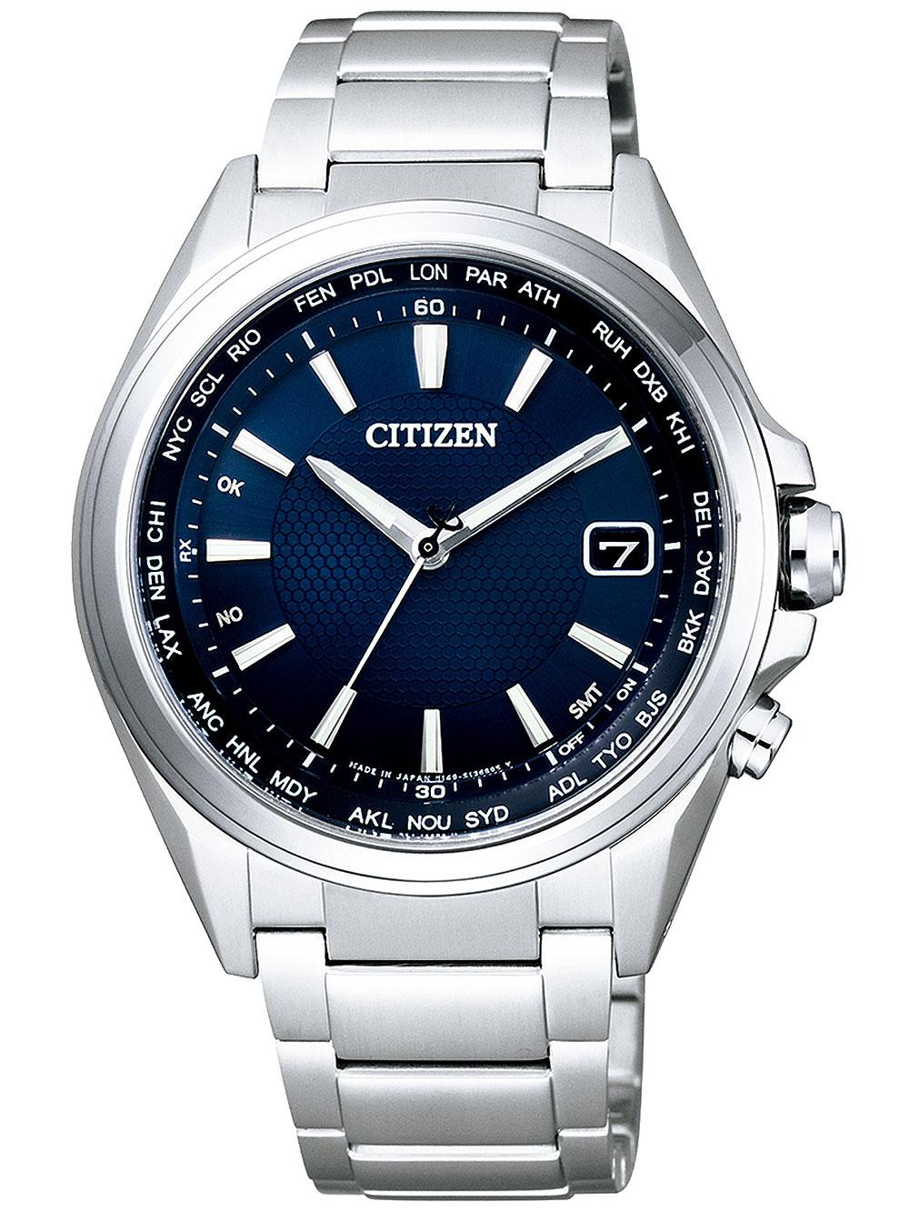 Citizen CB1070 56L Eco Drive Titanium Funkuhr 42mm 10ATM