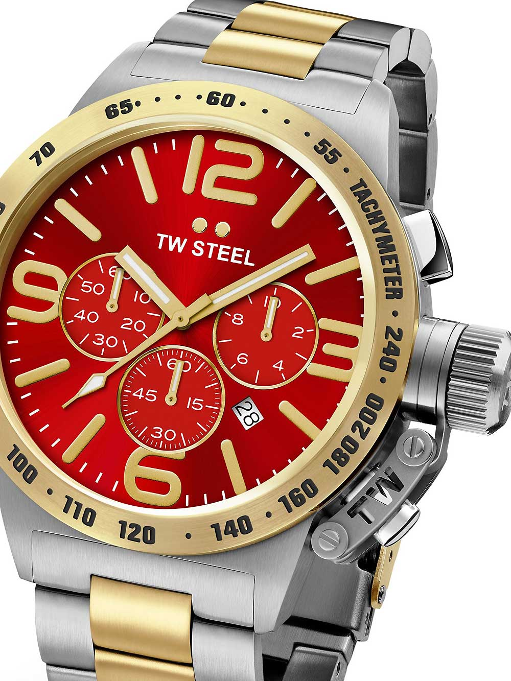 TW-Steel CB74 Canteen Bracelet Chronograph 50mm 10ATM