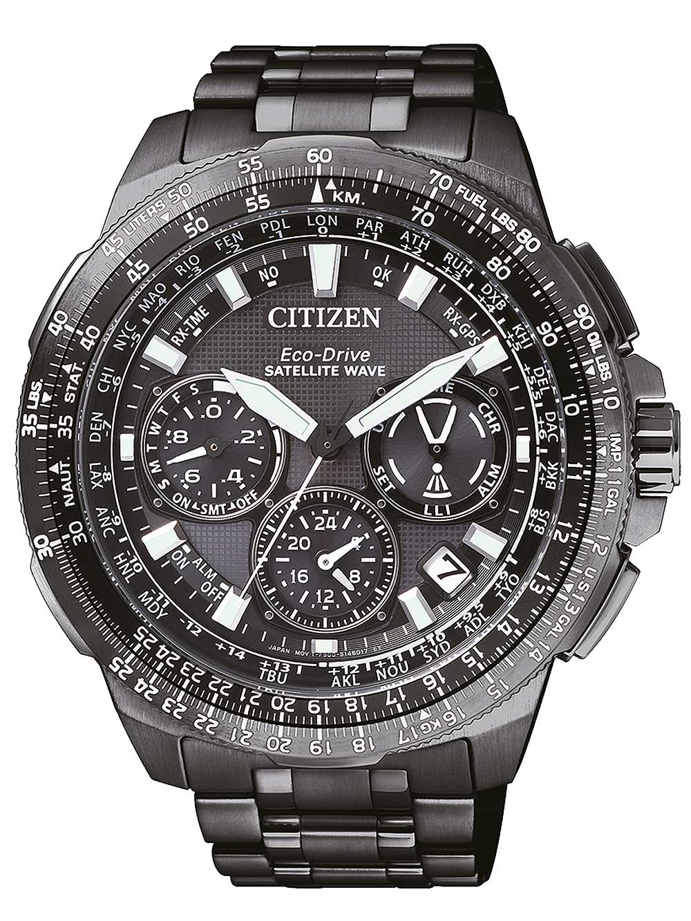 Citizen CC9025-51E Eco-Drive Promaster-Sky Satellite-Wave GPS Titanium 47mm 20ATM