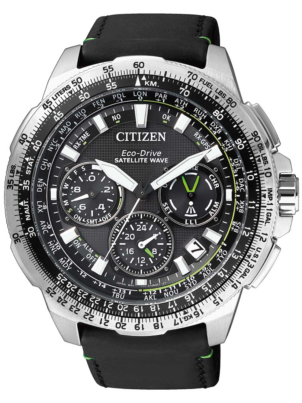 Citizen CC9030-00E Eco-Drive Satellite Wave GPS 47mm 20ATM