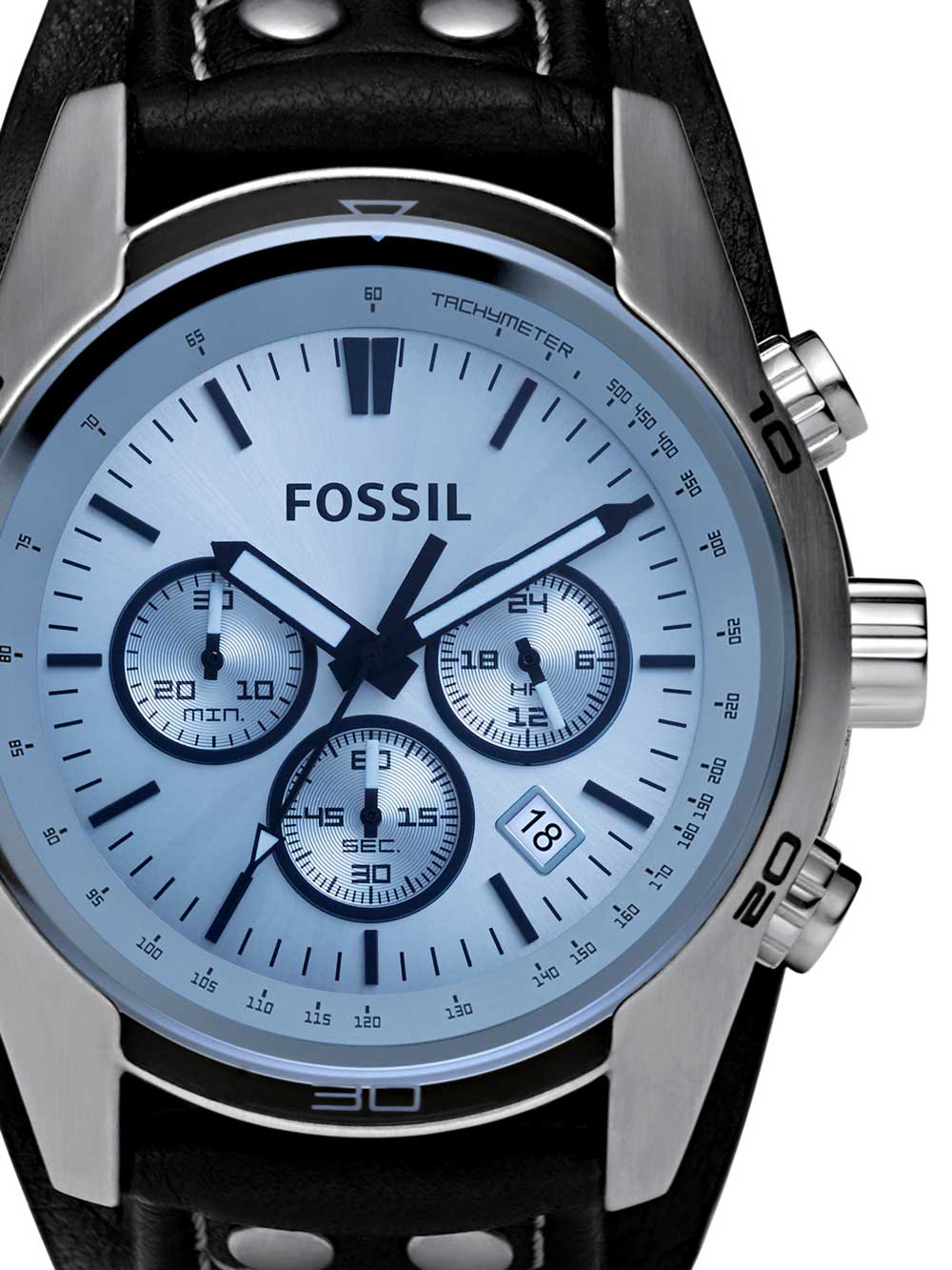 Fossil CH2564 Coachman Herren Chronograph 45mm 10ATM