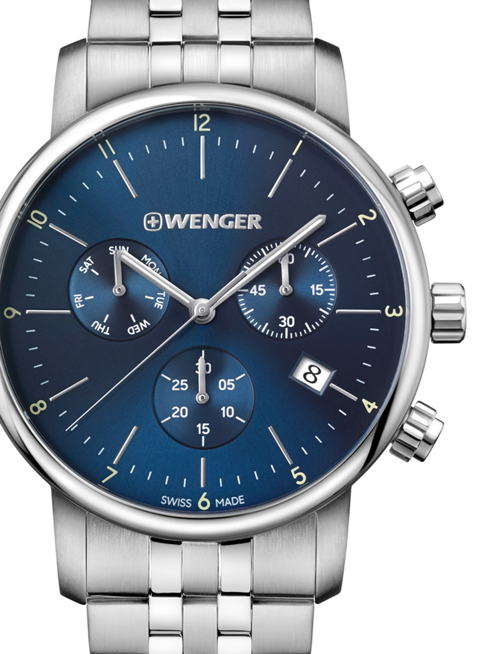 Wenger 01.1743.105 Urban Classic Chronograph 44mm 10ATM