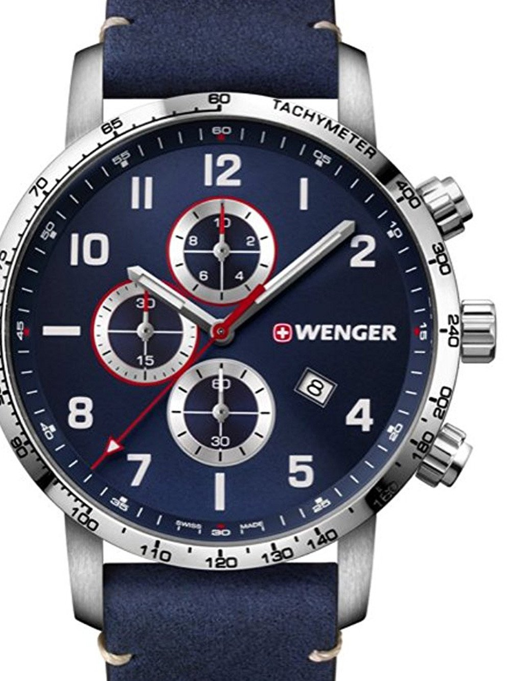 Wenger 01.1543.109 Attitude Chonograph 44mm 10ATM