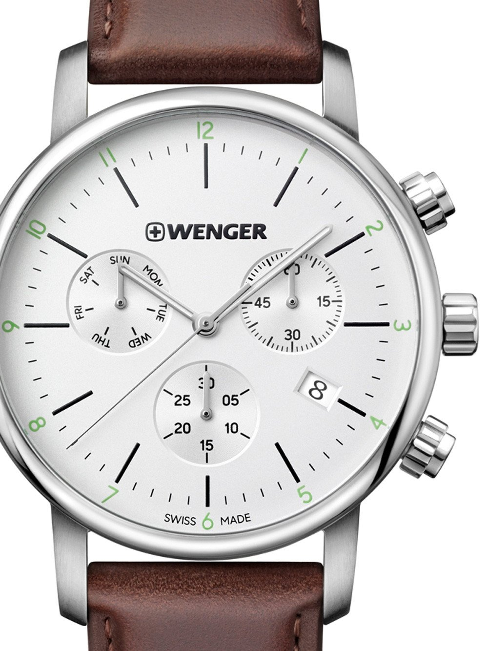 Wenger 01.1743.101 Urban Classic Chronograph 44mm 10ATM