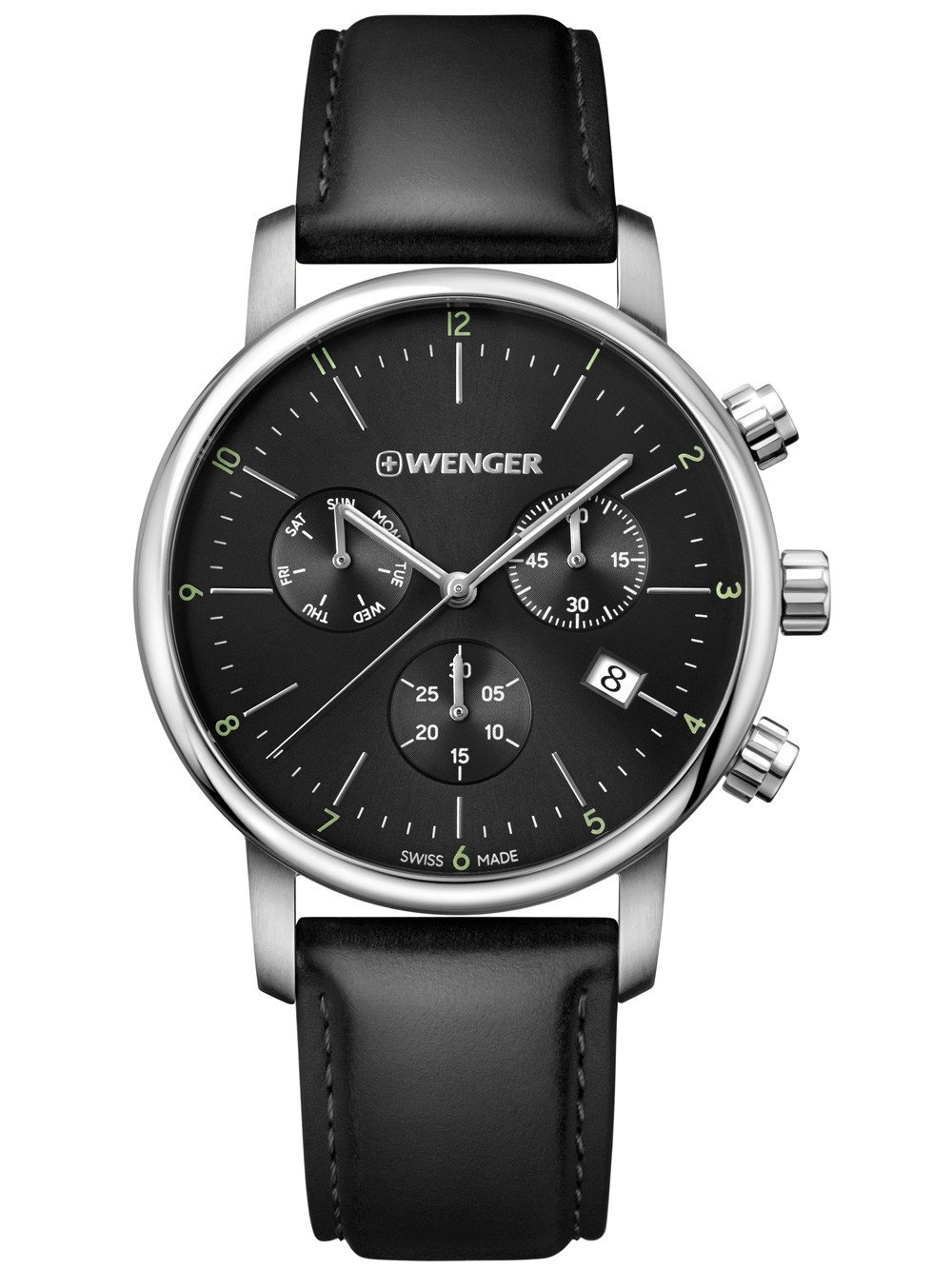 Wenger 01.1743.102 Urban Classic Chronograph 44mm 10ATM