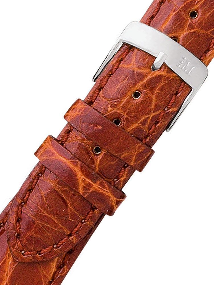 Morellato A01U0518339041CR18 braunes Alligator Uhrenarmband 18mm