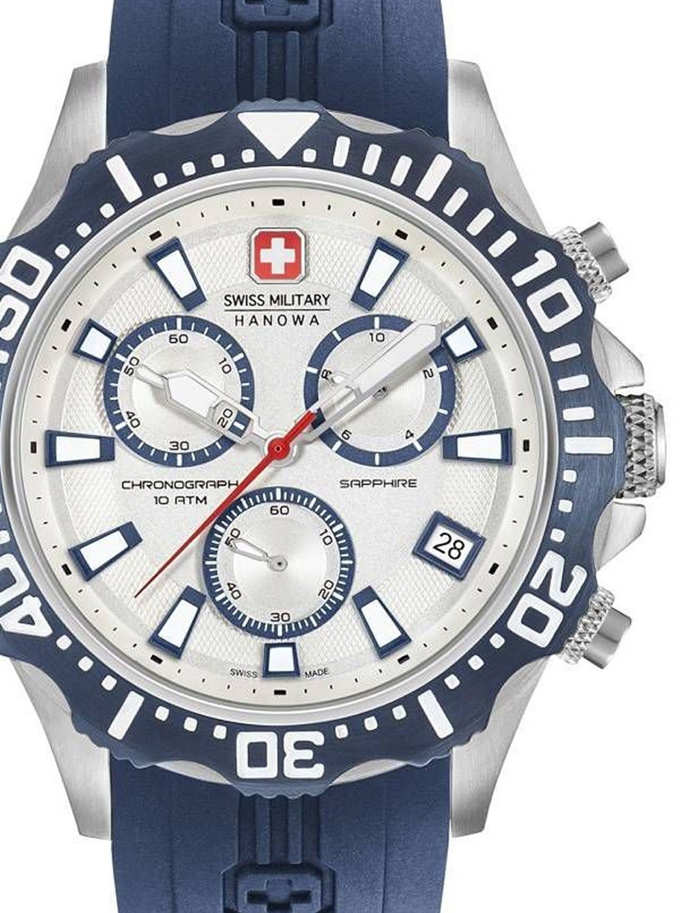 Swiss Military Hanowa 06-4305.04.001.03 Patrol Chrono 45mm 10ATM