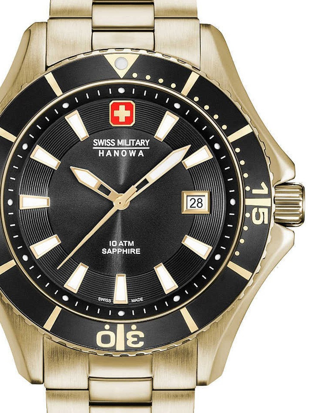 Swiss Military Hanowa 06-5296.02.007 Nautila Herren 46mm 10ATM