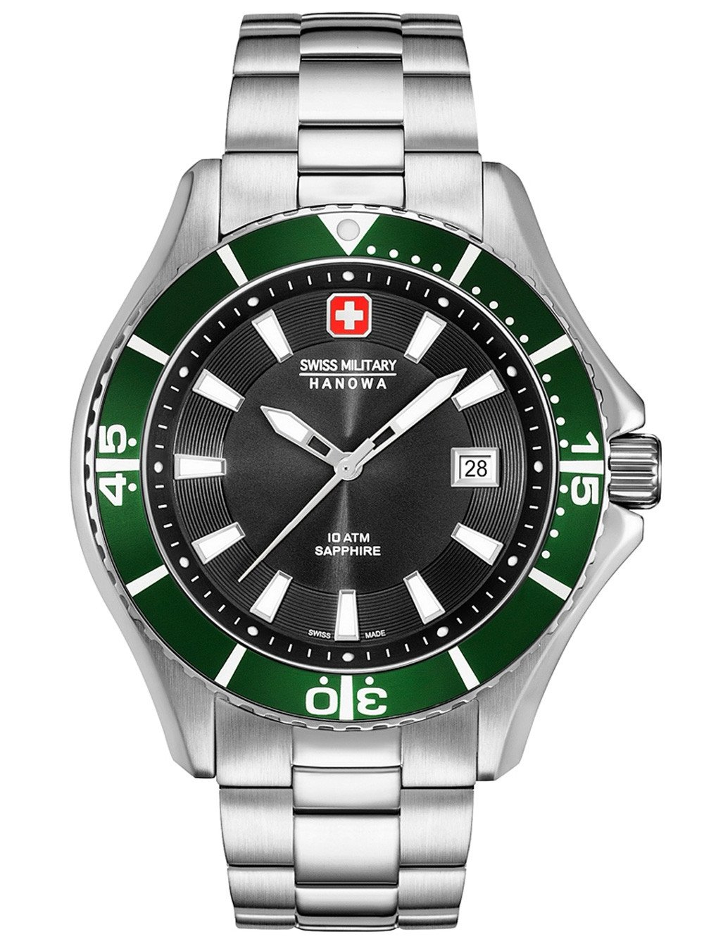 Swiss Military Hanowa 06-5296.04.007.06 Nautila Herren 46mm 10ATM