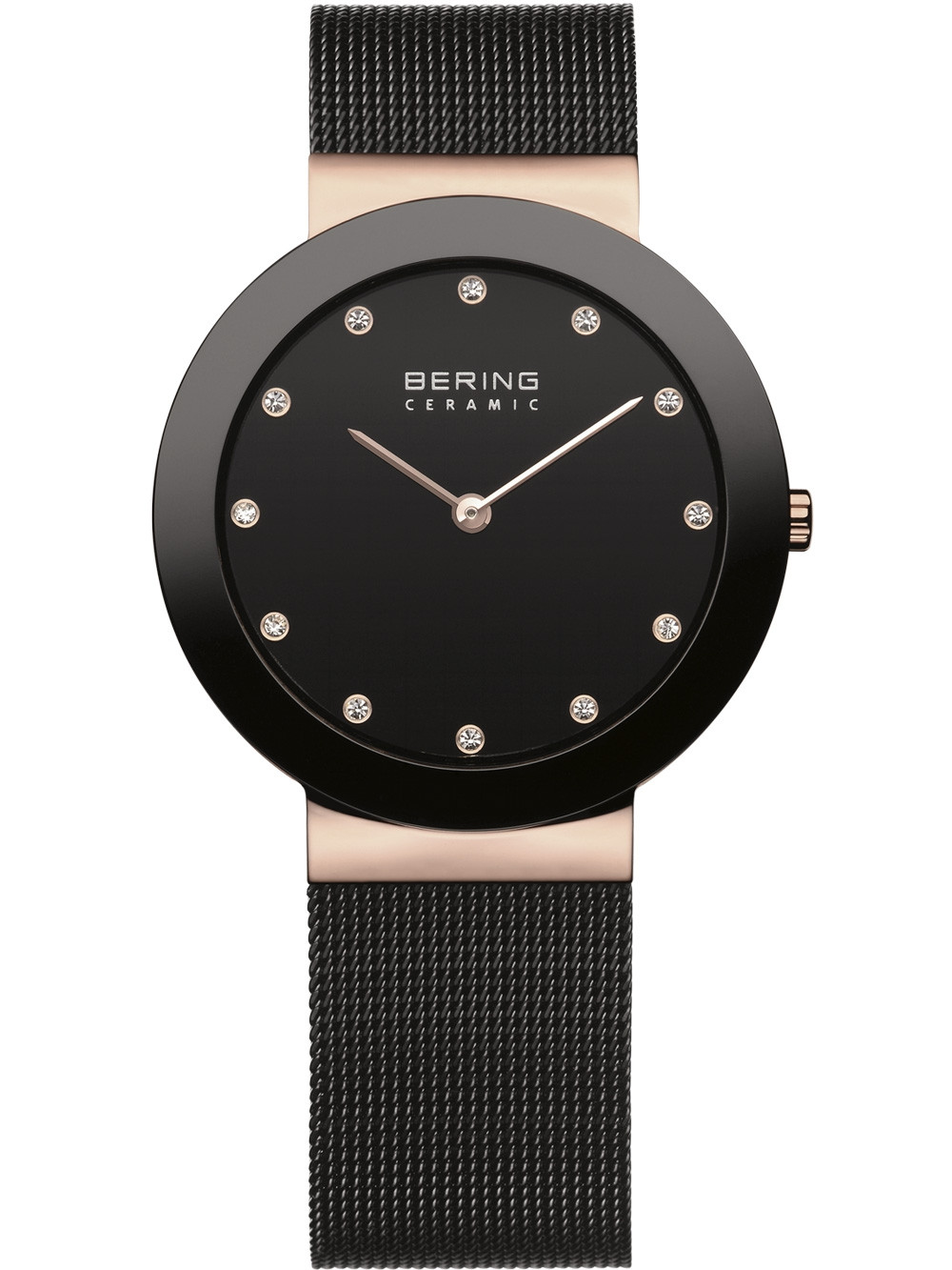 Bering 11435-166 Ceramic Damen 34mm 5ATM