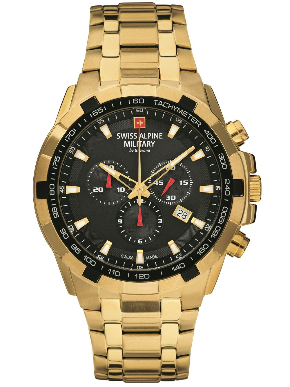 Swiss Alpine Military 7043.9117 Chrono 46mm 10ATM