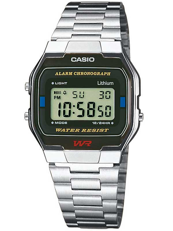 CASIO A163WA-1QES Collection 33mm 3ATM