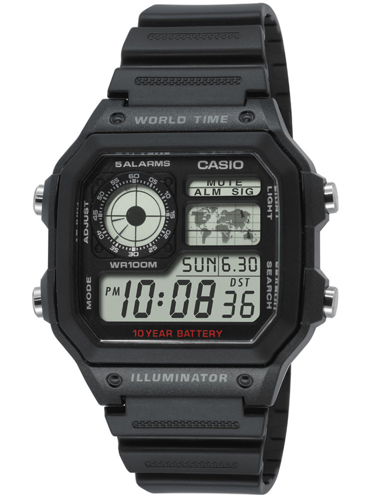 CASIO AE-1200WH-1AVEF Collection 10ATM 42mm