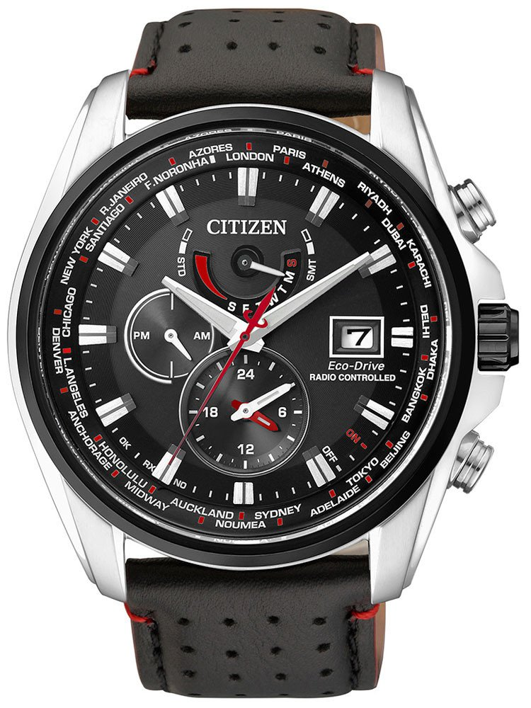 Citizen AT9036-08E Eco-Drive Herren Funkuhr Saphirglas 10ATM 44mm