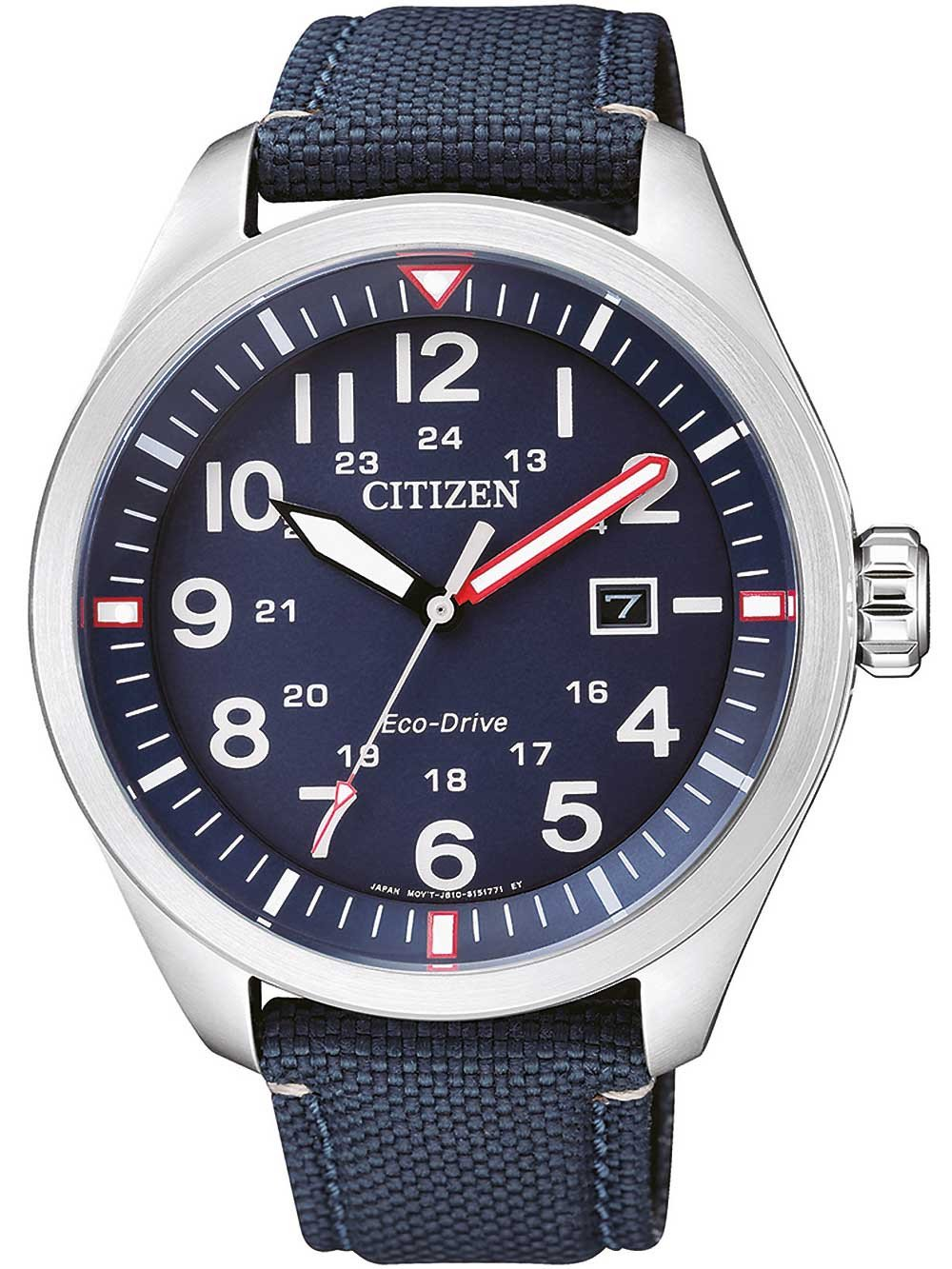 Citizen AW5000-16L Eco-Drive Sports Herren 43mm 10ATM