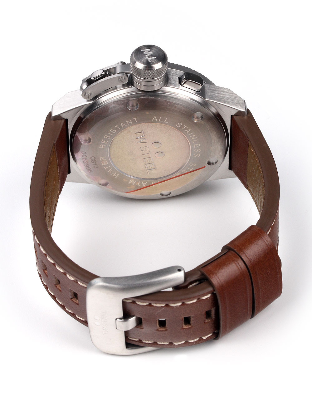 TW Steel CS13 Canteen Leather Chronograph 45mm 10ATM