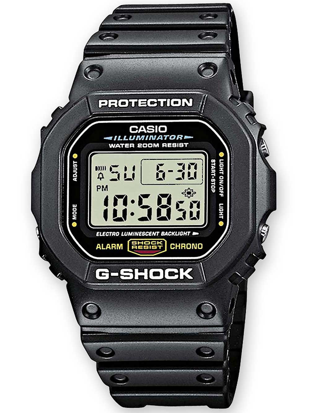 Casio DW-5600E-1VER G-Shock 43mm 20atm