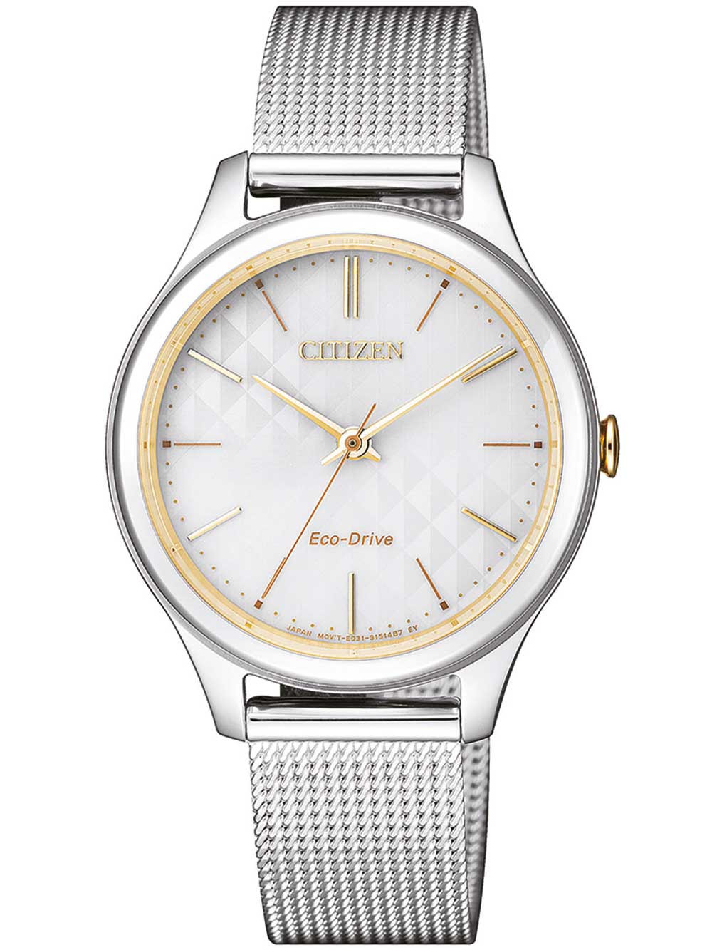 Citizen EM0504-81A Eco-Drive Elegant Damen 32mm 5ATM