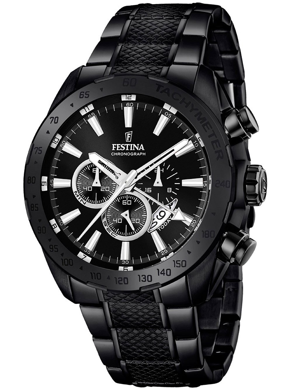 Festina F16889/1 Dual-Time Chronograph 44mm 10ATM