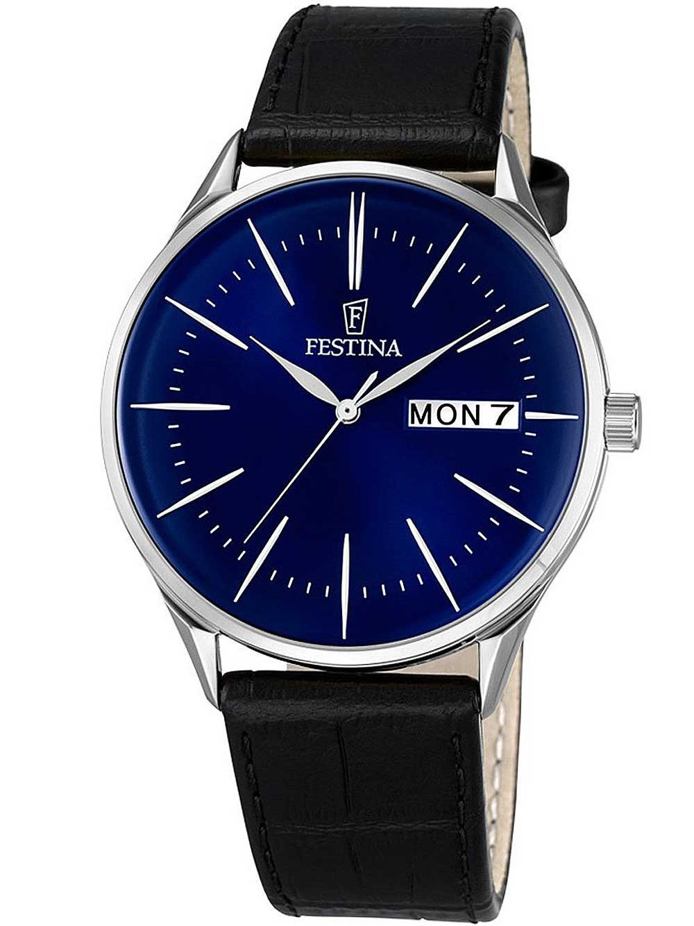 Festina F6837/3 Multifunktion Herren 43mm 3ATM