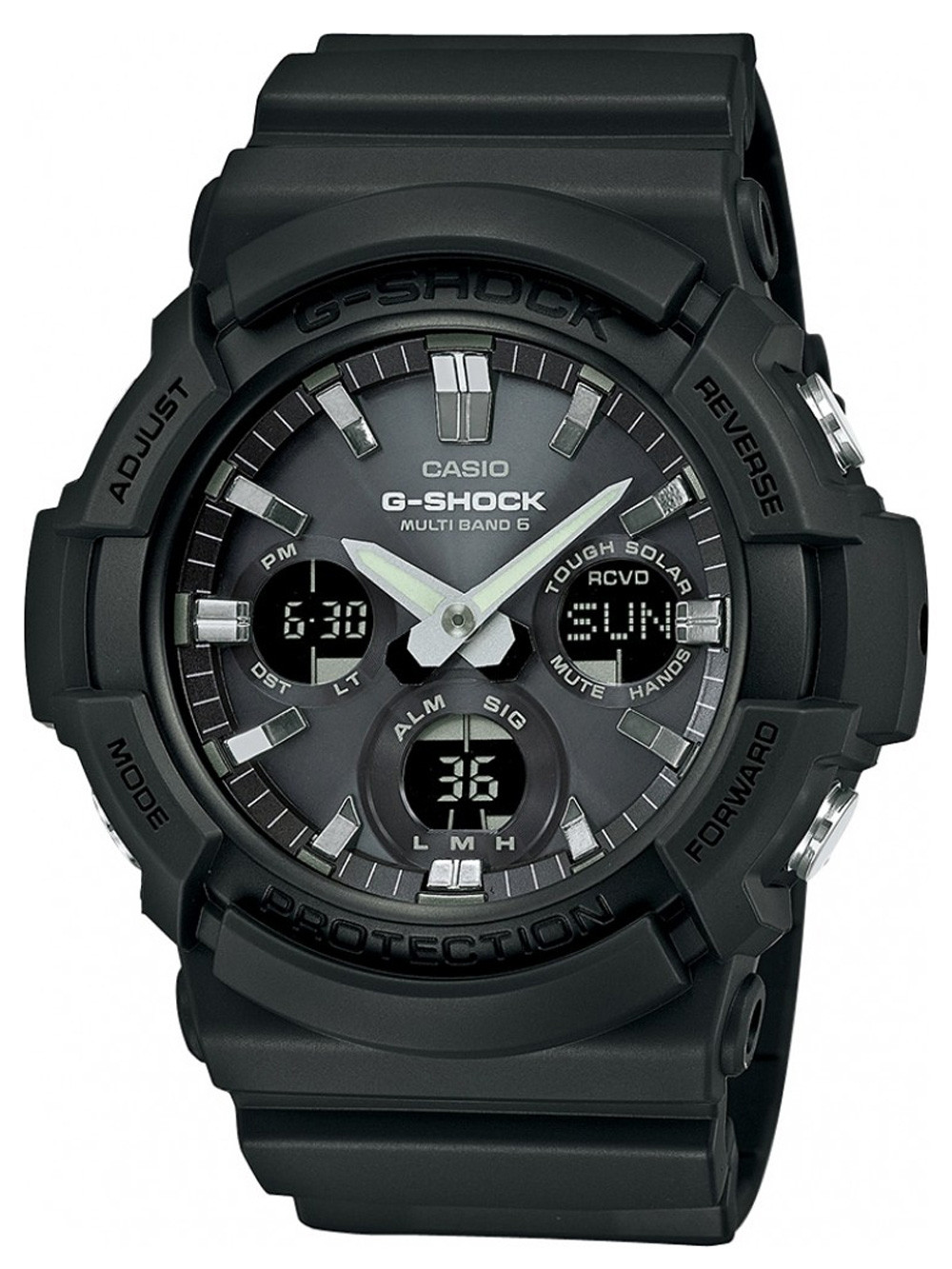 Casio GAW-100B-1AER G-Shock Solar 52mm 20atm