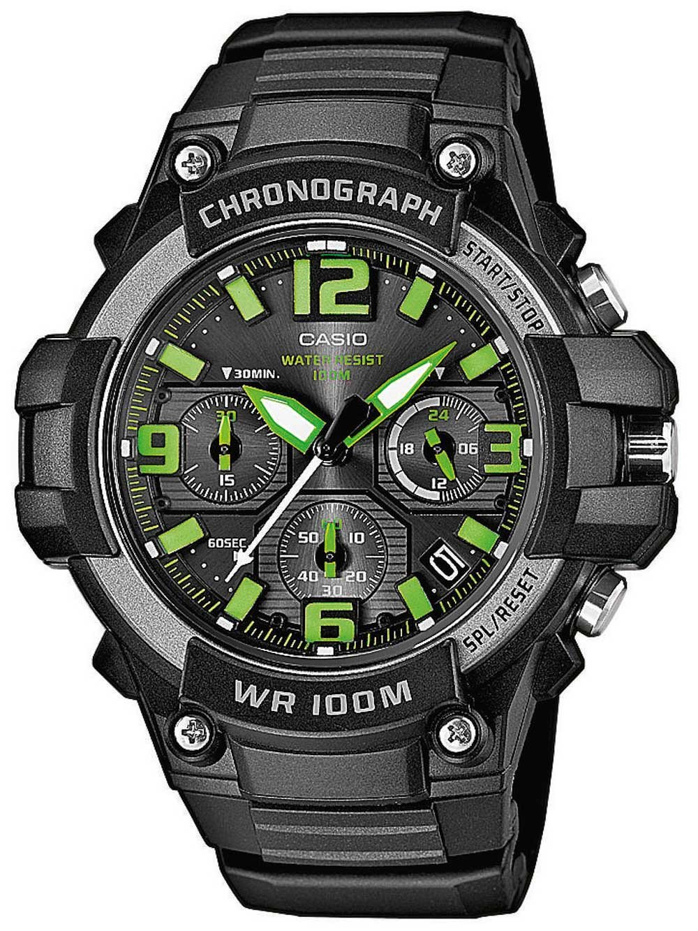 CASIO MCW-100H-3AVEF Collection 49mm 10ATM