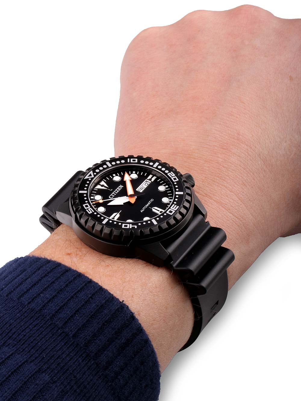 Citizen NH8385-11EE Day-Date Automatik 46mm 10ATM