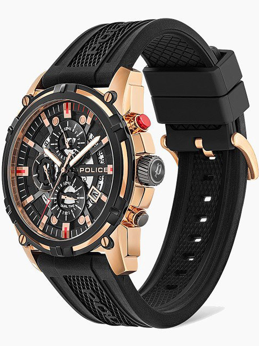 Police PEWJQ2003540 Leptis Dual Time 46mm 5ATM