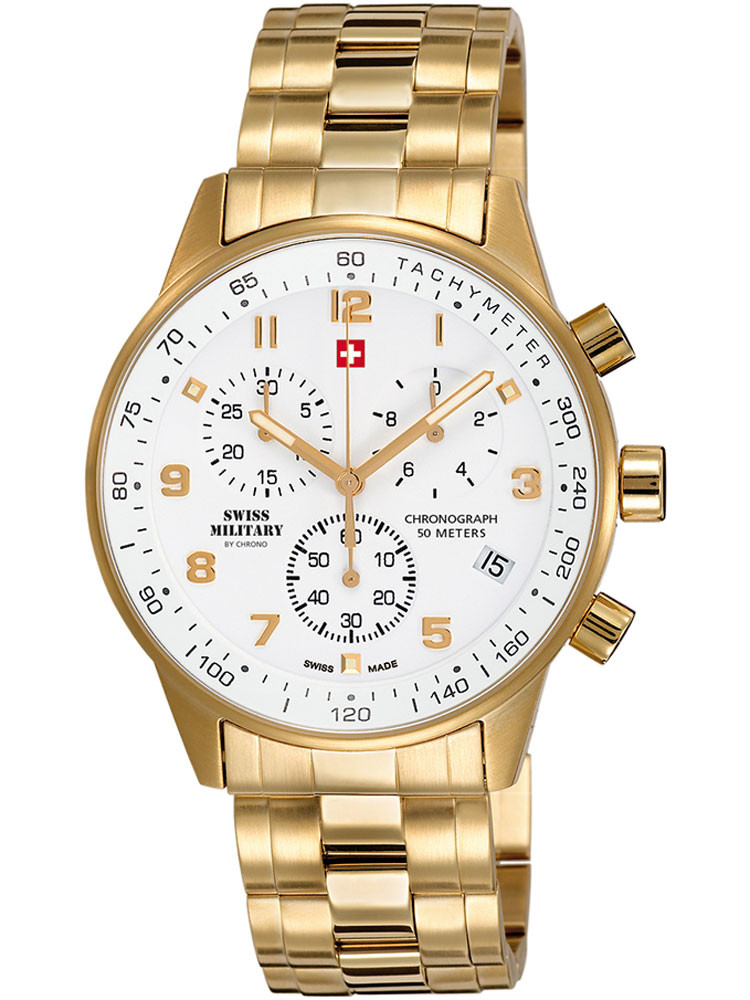 Swiss Military SM34012.03 Chronograph 41mm 5 ATM