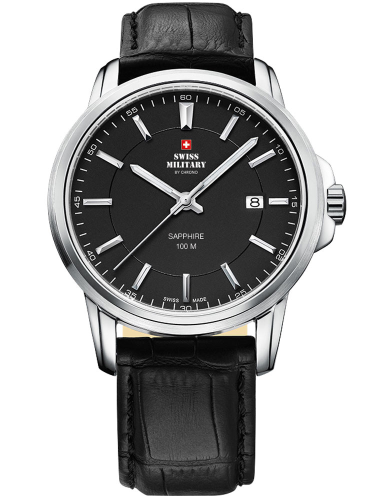 Swiss Military SM34039.06 Herren Saphirglas 40mm 10ATM