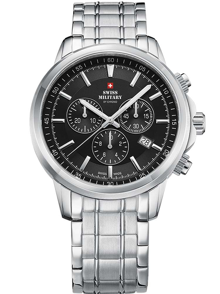 Swiss Military SM34052.01 Chronograph Saphirglas 42mm 10ATM