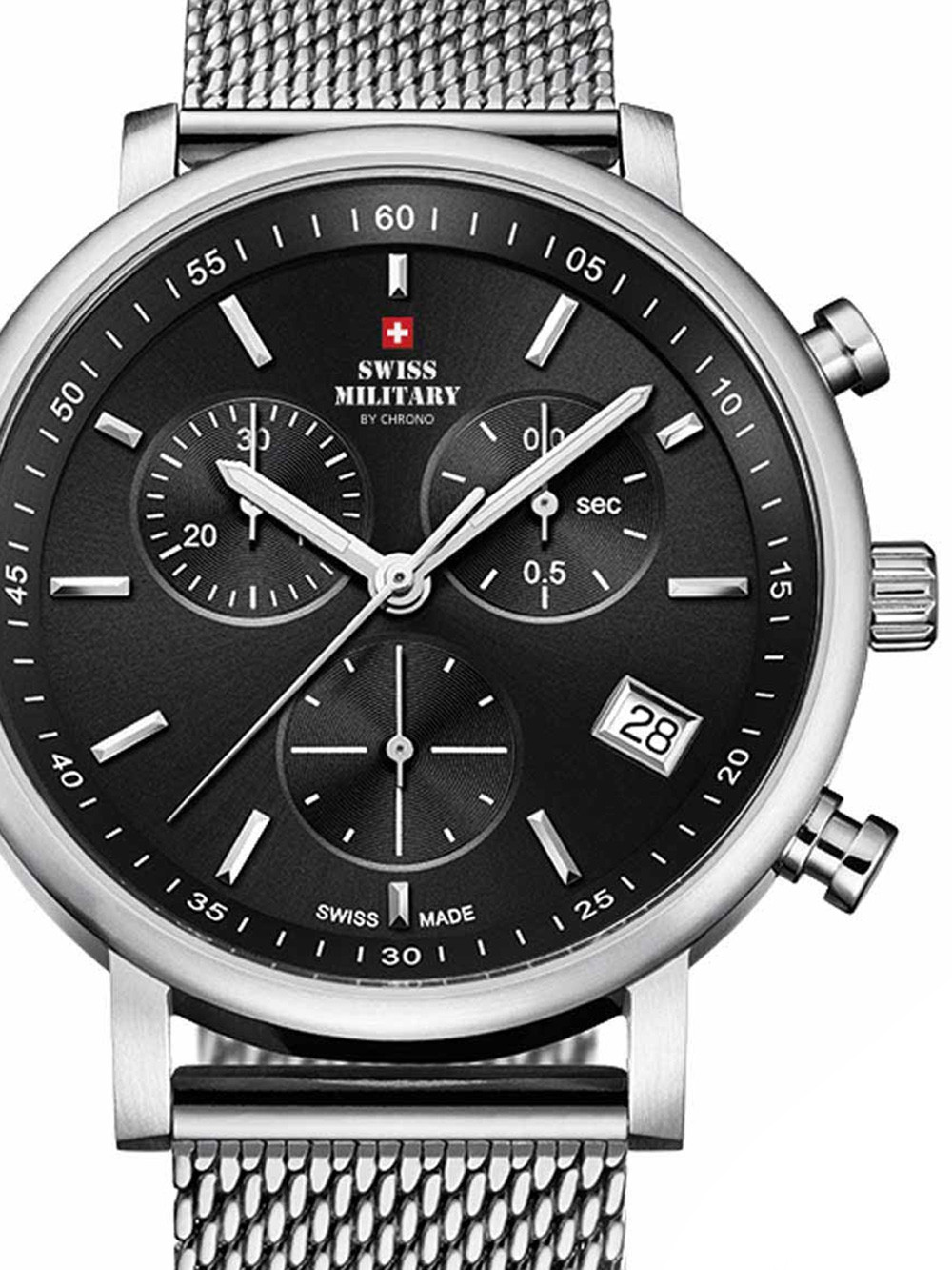 Swiss Military SM34058.01 Chronograph 42mm 10ATM