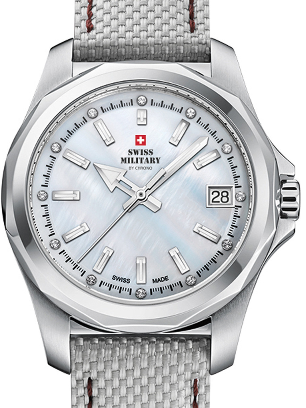 Swiss Military SM34069.04 Damen 36mm 10ATM