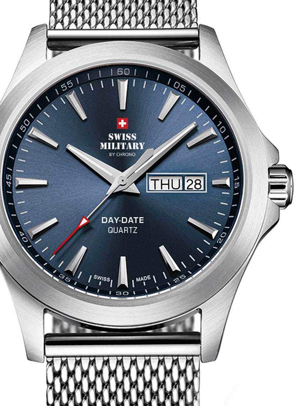 Swiss Military SMP36040.03 Herren 42mm 5ATM