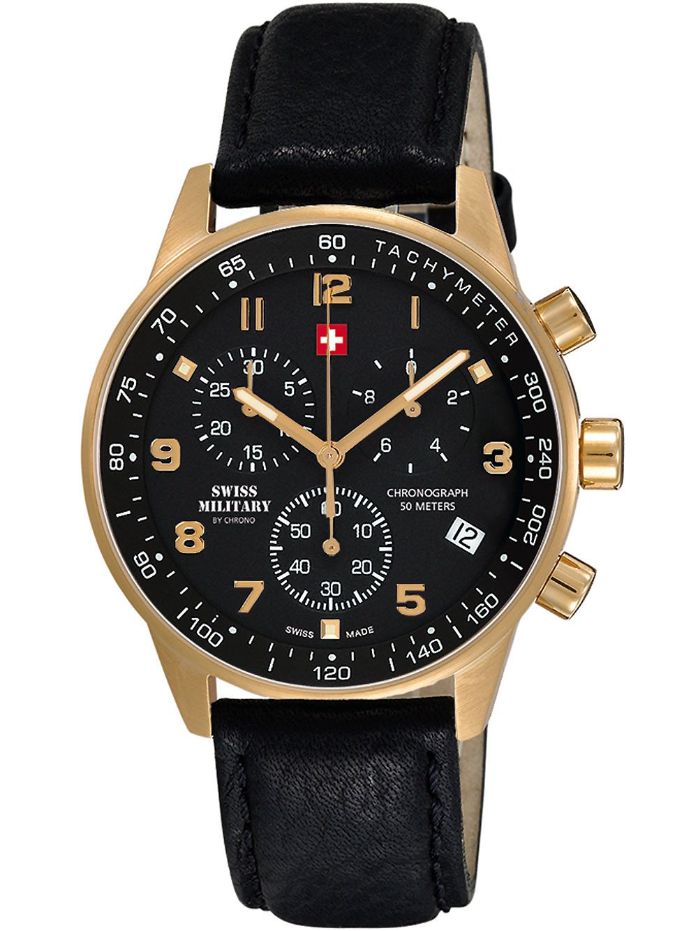 Swiss Military SM34012.10 Chronograph 41mm 5 ATM