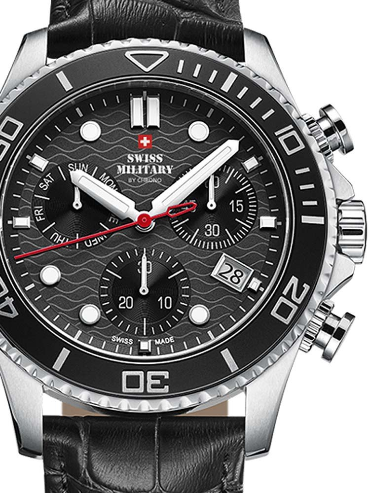 Swiss Military SM34051.04 Chronograph 46mm 10ATM