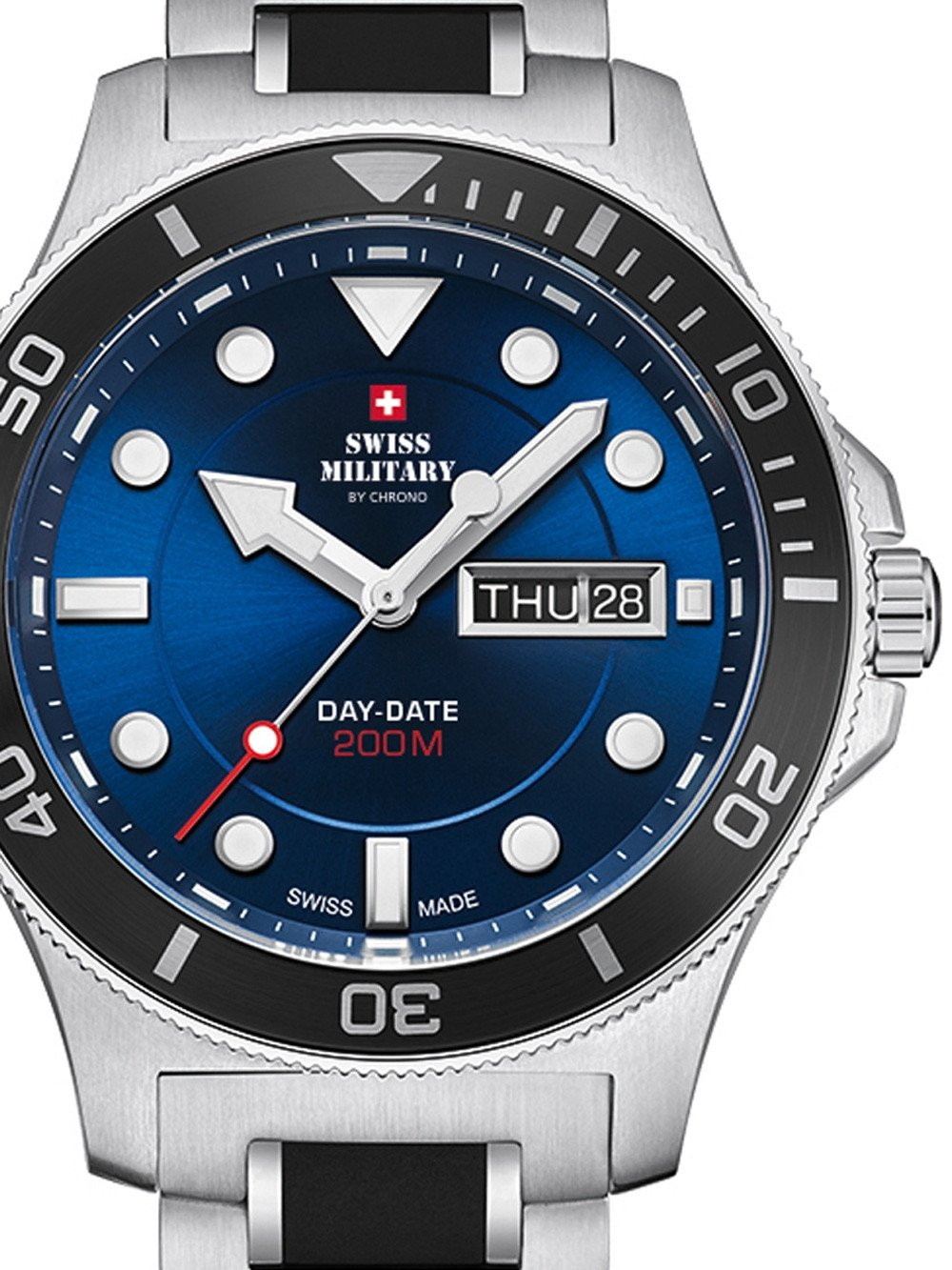 Swiss Military SM34068.02 Herren 42mm 20ATM