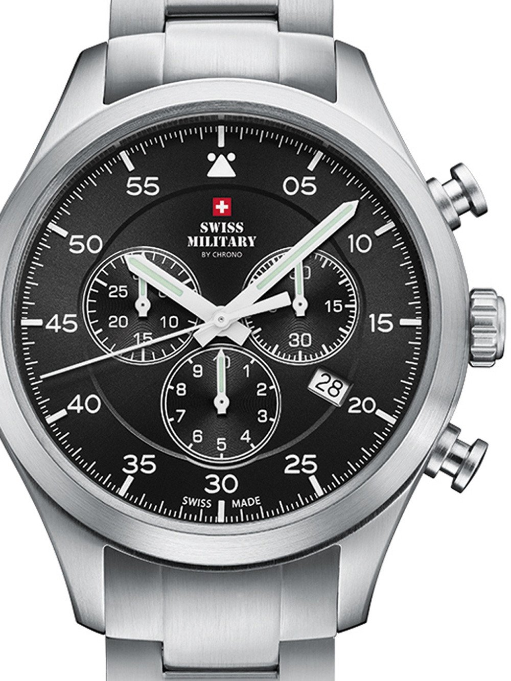 Swiss Military SM34076.01 Chronograph 43mm 10ATM